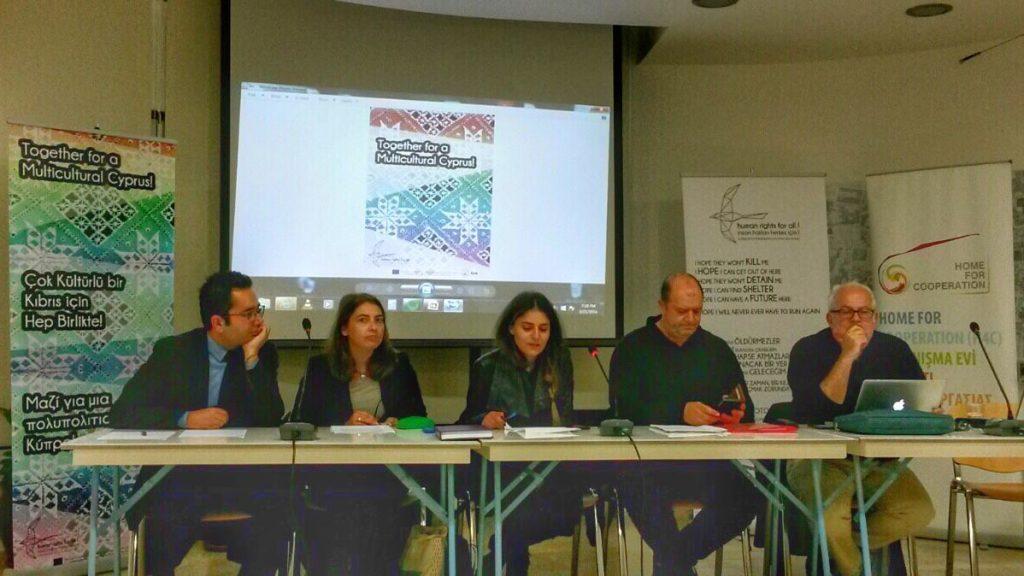 'Bugün ve Yarın Birleşik bir Kıbrıs'ta Irk Ayrımcılığı' üzerine panel