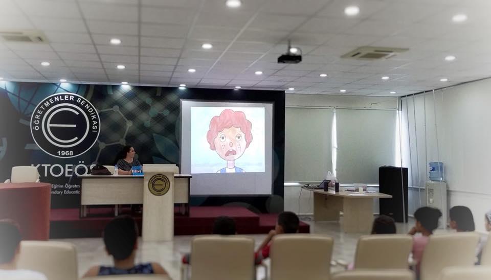 MHD'ye kayıtlı çocuklar için çocuk hakları üzerine atölye çalışması